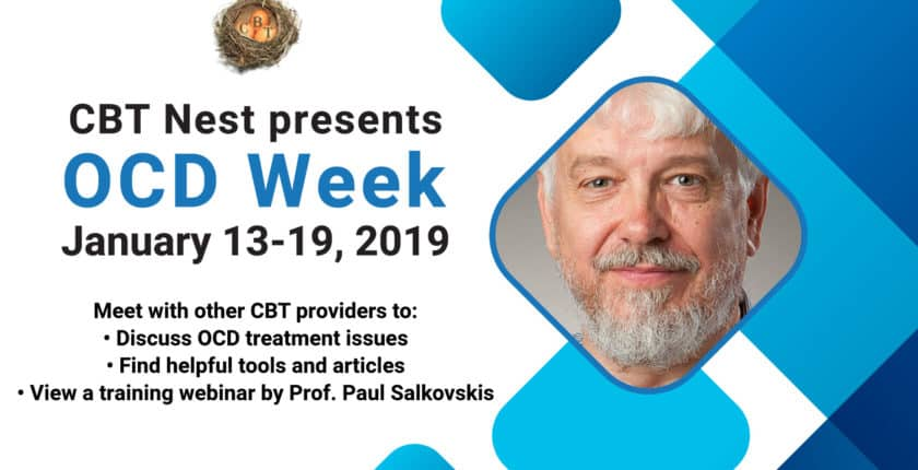 Paul Salkovskis - CBT for OCD